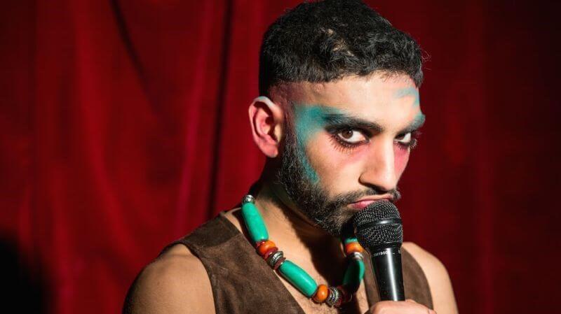 Mawaan Rizwan Top Secret Comedy Club Covent Garden London